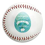 Is Eastern King the Same As King Base Ball Safety Baseballs Official Size Soft Balls Easter Happiness Bunny Print Youth Training Tool