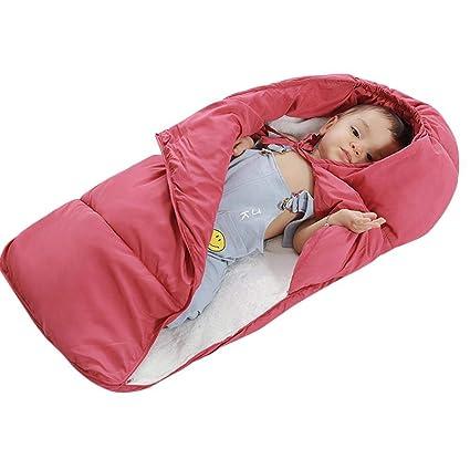 per Saco de Dormir para Bebés Infantiles Colchonetas para Carritos Bebés Espesadas par Invierno Anti-