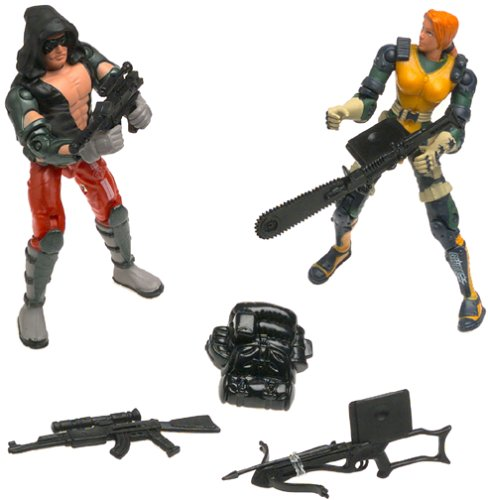 GI Joe Vs. Cobra Agent Scarlett vs. Zartan 2-Pack 3.75
