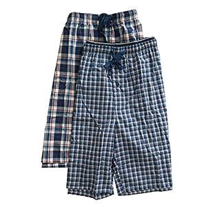 Hanes Men's 2-Pack Woven Pajama Short