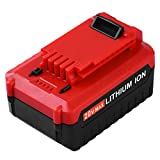 ENERMALL 5.0Ah Lithium-Ion Replacement for Porter Cable 20V Battery PCC685L PCC680L PCC682L PCC685LP Cordless Power Tool