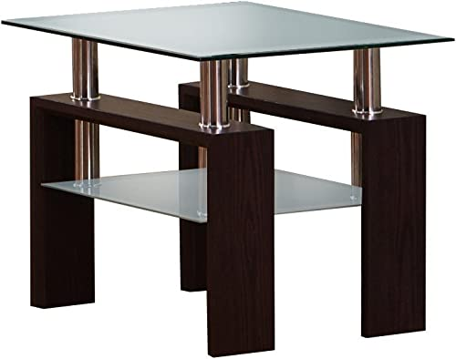 Best Quality Furniture Glass End Table
