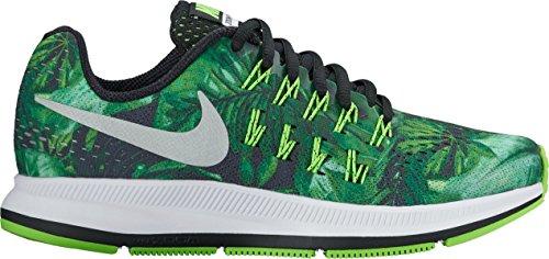 Nike Nike Zoom Pegasus 33 Print Gs - black/metallic silver-black