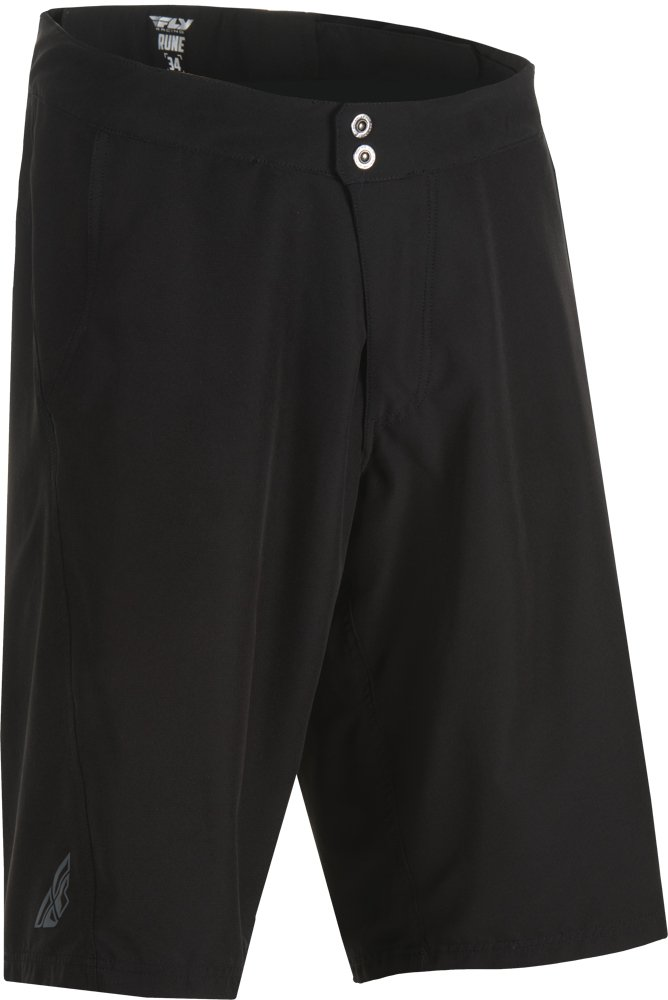Fly Racing Unisex-Adult Rune Shorts (Black, Size 38)