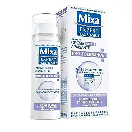 Crema calmante Expert Peau Sensible protolerancia cara + ojos, para piel seca e intolerante,