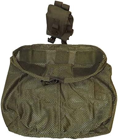 Bolso casco inglés original malla coyote brown