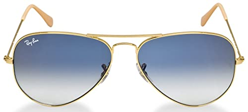 Amazon.com: Ray Ban RB3025 – Aviator grande de metal ...