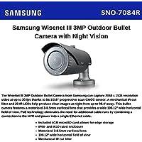 Samsung WiseNet III IR bullet camera, 3MP