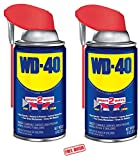 Automotive : WD-40 Multi-Use Product - Multi-Purpose Lubricant with Smart Straw Spray. 8 oz. (2 Pack)