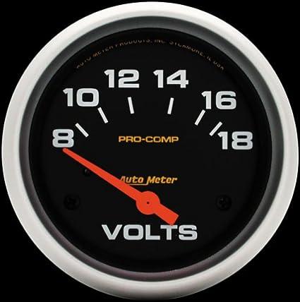 Auto Meter 5492 Pro-Comp Electric Voltmeter Gauge