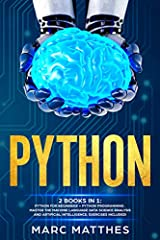 Buy the Paperback version and get the Kindle eBook version included for FREE!         DID YOU KNOW THAT A PYTHON PROGRAMMER CAN EARN EVEN MORE THAN $ 100.000 PER YEAR?              If you are an experienced coder or a beginner...