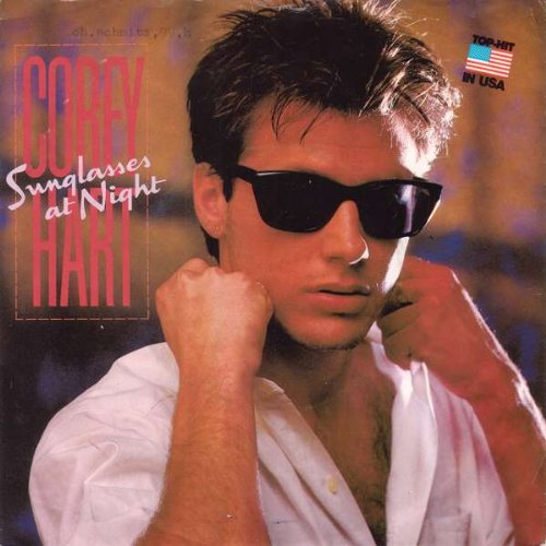 Corey Hart - Sunglasses At Night - EMI America - 1C 006 2002417 (Sunglasses At Night Von Corey Hart)