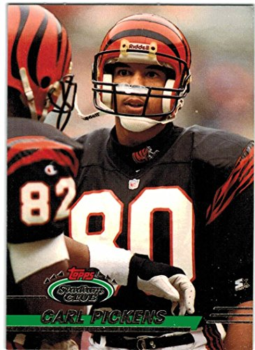- 1993 Stadium Club with High #'s Cincinnati Bengals Team Set with Carl Pickens & Harold Green - 19 Cards