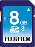 Fujifilm 8 GB SDHC Class 4 Flash Memory Card