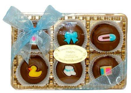 Baby-Boy-Themed-Belgian-Milk-Chocolate-Oreos