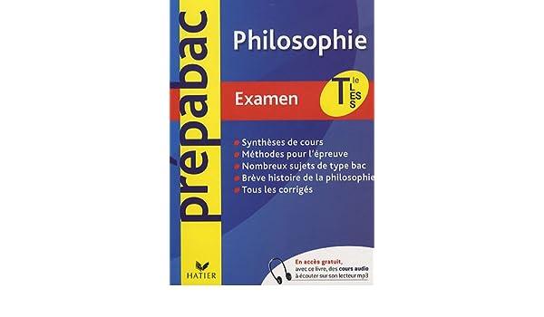 Philosophie Tles L, ES, S (Prépabac examen): Amazon.es: Stéphane Vial: Libros en idiomas extranjeros