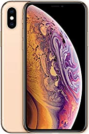 Apple iPhone XS (64GB, Gold) [Locked] + Carrier Subscription