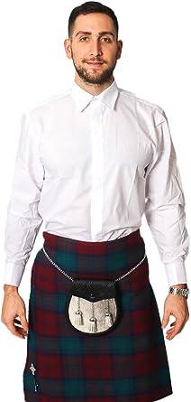 Lloyd Attree & Smith - Camisa de vestir - para hombre Blanco blanco 14, 5: Amazon.es: Ropa y accesorios