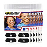 (24 Strips) Eye Black - Los Angeles Dodgers MLB Eye Black Anti Glare Strips, Great for Fans & Athletes on Game Day