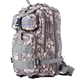 Cozy Age Military Tactical Backpack Hiking Camping Backpack Compact Pack,One Size,ACU Camo