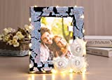 Sdsaena Picture Frame 6X8 Inch Handmade Gorgeous Designs Made of Wood for Table Top