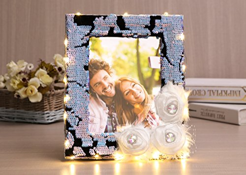 Sdsaena Picture Frames 6X8 inch Handmade Gorgeous Designs Made of Wood for Table top