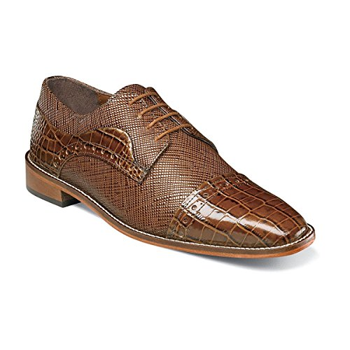 Stacy Adams Mens Rodrigo Cap Toe Oxford Senape
