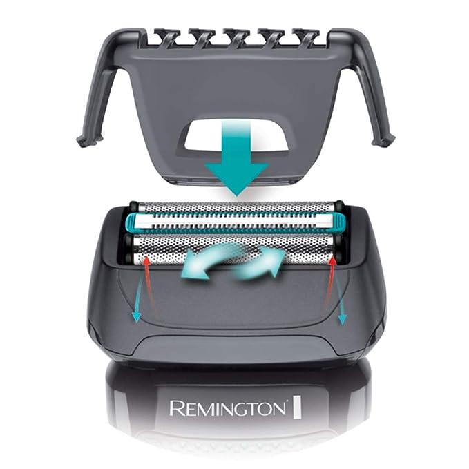 Remington F4 Style Series F4000 - Afeitadora eléctrica, recargable e inalámbrico, recortadora barba, seco y mojado, color gris: Amazon.es: Salud y cuidado ...