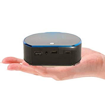 Dferuhfg Proyector, Mini Proyector Portátil con Doble WiFi ...