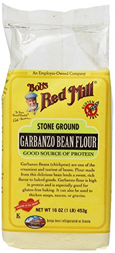 (Bobs Red Mill Garbanzo Bean Flour, 16 Ounce (Pack of 4))