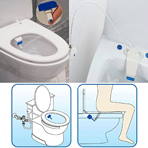 Decko Plastic Toilet Paper Holder (Corner Biz Bath - Bathroom Smart Toilet Seat Bidet Intelligent Toilet Flushing Sanitary Device)
