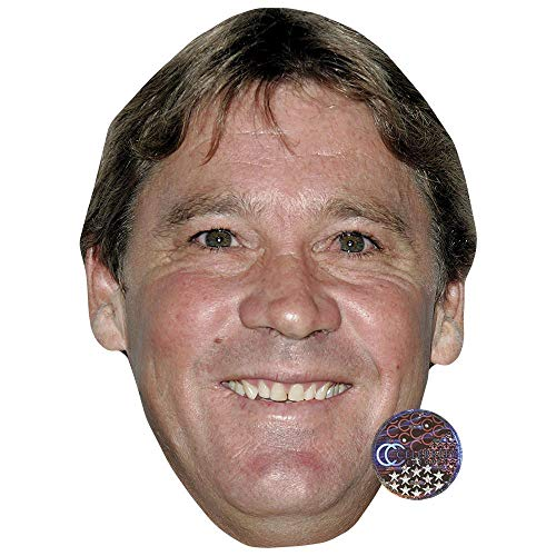 Celebrity Cutouts Steve Irwin Big Head. Larger Than Life -