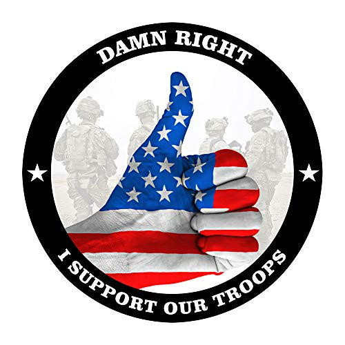 FESCO Damn Right I Support Our Troops - 1 Pack