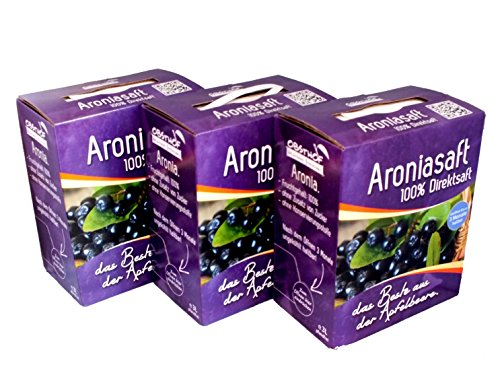 Obsthof Stockinger - Aroniasaft 3 x 3 Liter Bag in Box - versandkostenfrei