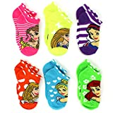 Disney Princess Girls Teen Womens 6 pack Socks (Toddler/Little Kid/Big Kid/Adult)