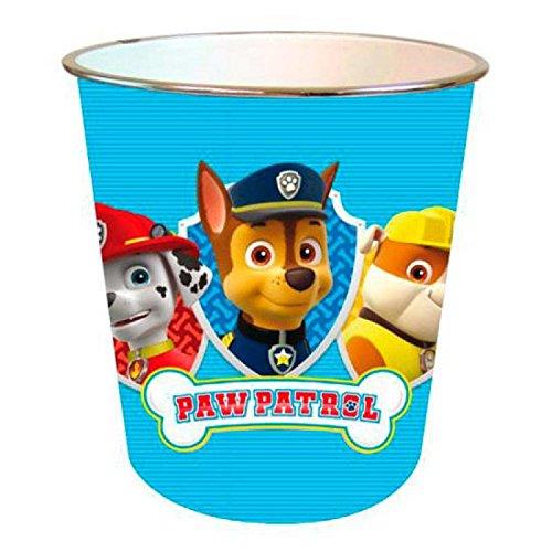 PAW Patrol Paper Bin - Wastebasket - Children's Bedroom Pat Patrouille