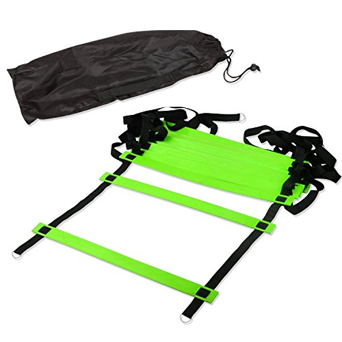 Generic Agility Ladder Kit Free Training Bag and Easy to Pack/Unpack by Generic