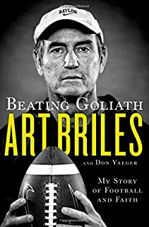 Book Cover: Beating Goliath: My Story of Football and Faith