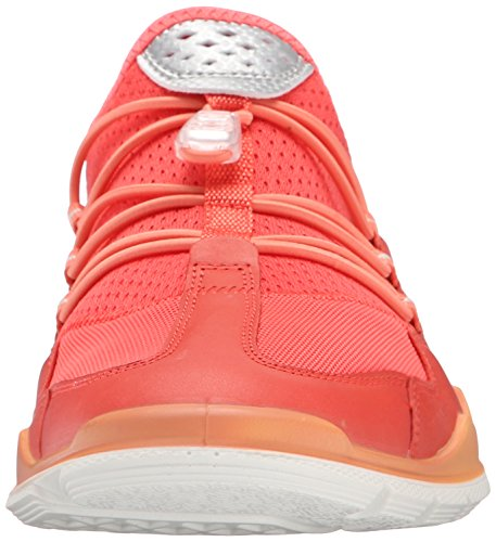 Ecco Ecco Lynx, Chaussures Multisport Indoor femme Rouge - Rot (CORAL BLUSH/CORAL BLUSH59405)