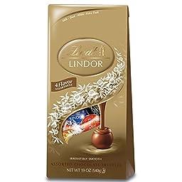 Lindt Chocolate Assorted Lindor Truffle Bag - 19 oz.