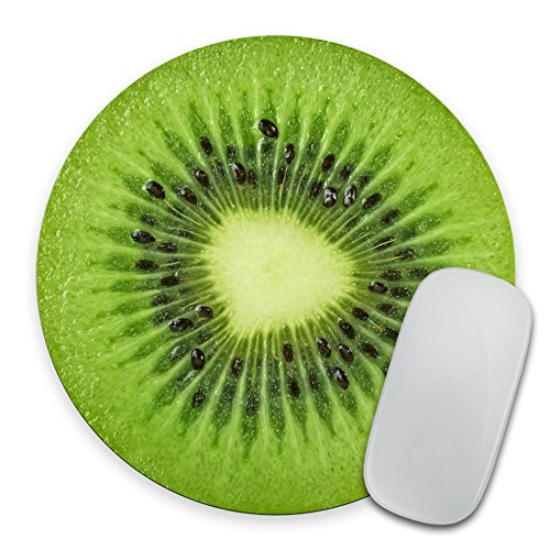 Kiwi Slice Mousepad, Tropical Kiwi Fruit Mouse Pad, Fruit Mousepad, Vegan Mouse Pad, Vegan Gift, Food Mousepad, Foodie