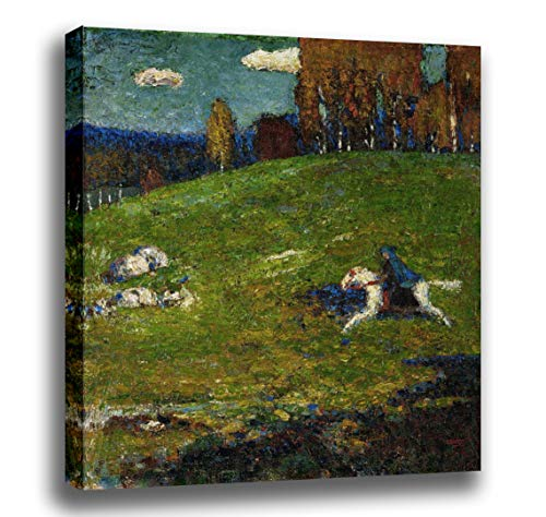 (Odsan Gallery Stretched Canvas Print - The Blue Rider - by Wassily Kandinsky - 16