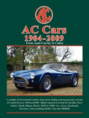 Download AC CARS 1904-2009 - ROAD TEST PORTFOLIO PDF