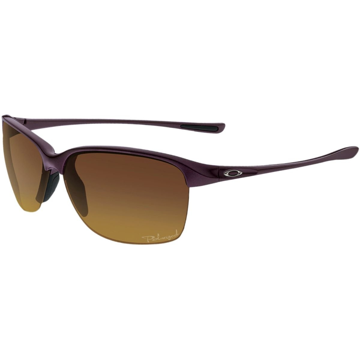 Oakley Unstoppable Polarized Sunglasses - Women's Raspberry Spritzer/Brown Gradient Polar, One Size by Oakley