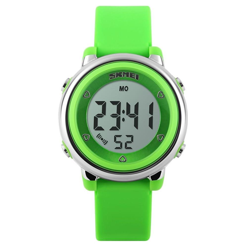 摘むお香ドライブデジタル時計 腕時計 子供 スポーツウォッチ キッズ LED カジュアル 女の子 男の子
