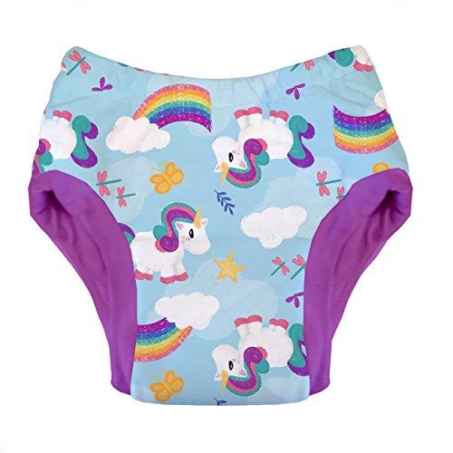 Pull Trainer - Thirsties Reusable Cloth Potty Training PantMedium - Unicorntopia