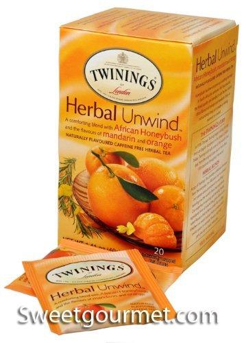 (Twinings Herbal Unwind African Honeybush, Mandarin and Orange Tea, 120 Count)