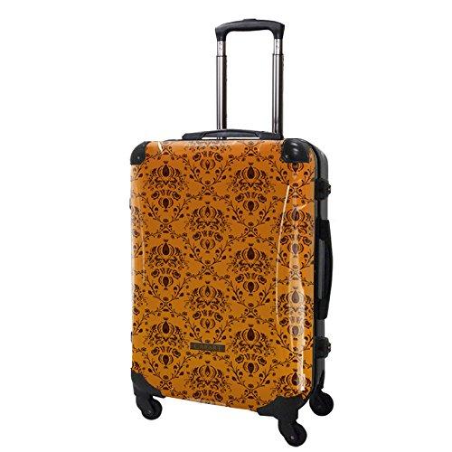 2370b818a5 Amazon | [キャラート] アート スーツケース ベージック ヴォイジュ フレーム4輪 63L L 保証付 63L 68cm 4.1kg  CRA03H-001E オレンジ オレンジ | CARART(キャラート) ...