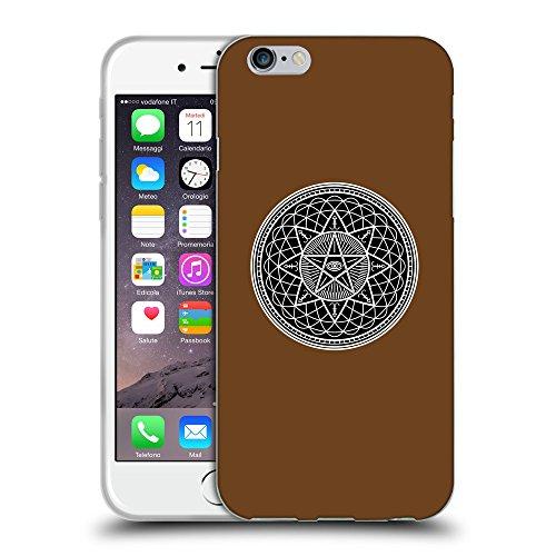 GoGoMobile Coque de Protection TPU Silicone Case pour // Q08280633 Mystique occulte 7 Sépia // Apple iPhone 7
