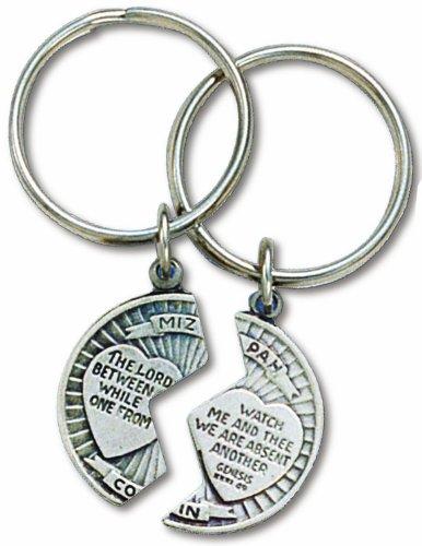 Lord Keychain (Mizpah Key Ring Set Genesis 31:49)